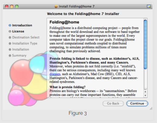 Step 3 installing Folding@Home on Mac