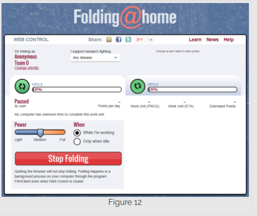 Step 12 installing Folding@Home on Mac